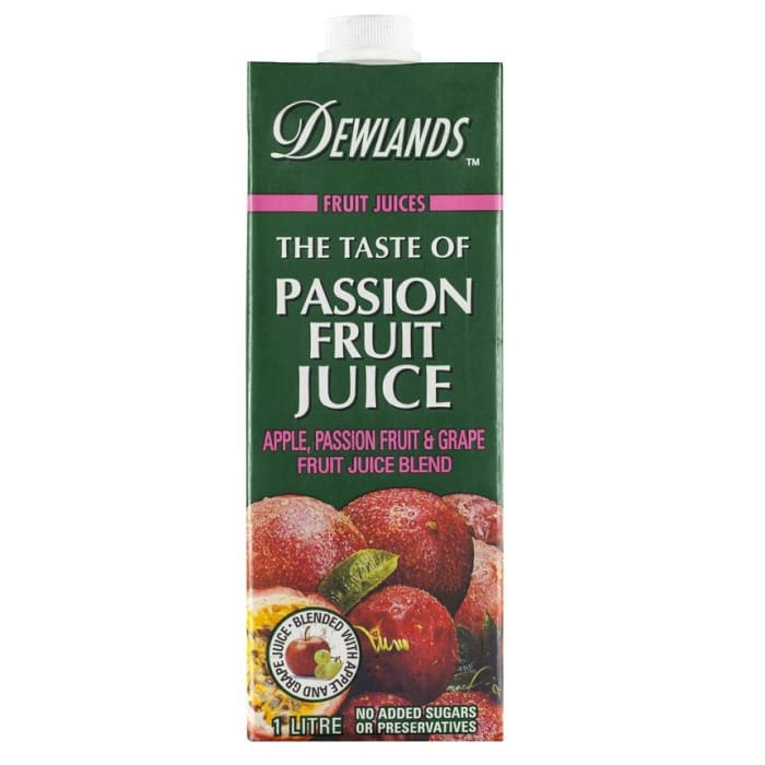 Dewlands Juices Passion Fruit