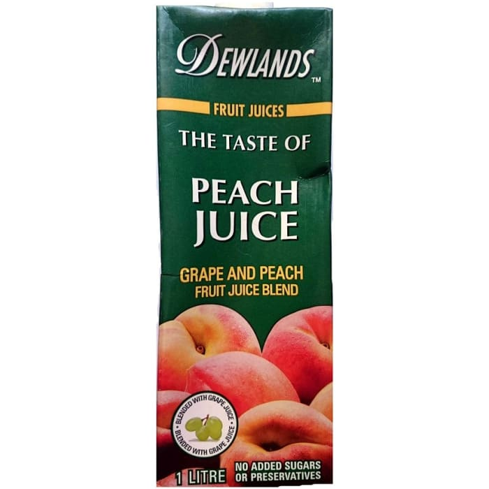 Dewlands Juice Peach