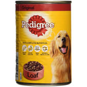 Pedigree Original with Loaf Dog Food