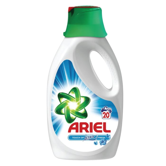 Ariel Liquid Detergent The Touch Of Lenor