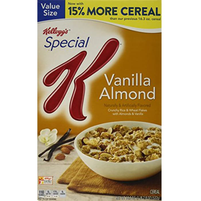 Kelloggs Special K Oats & Honey Cereal