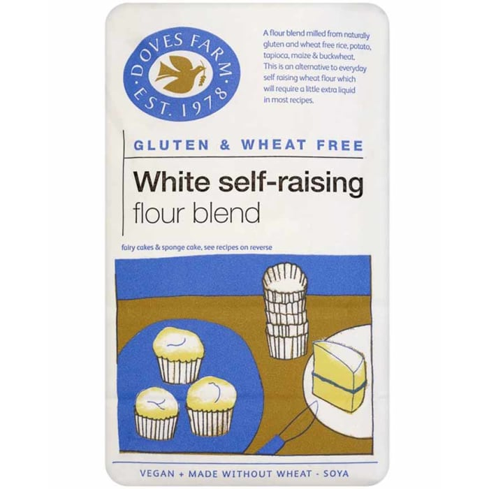 Doves Farm Gluten Free Self Raising White Flour 1000 Grams