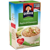 Quaker Instant Oatmeal Apples & Cinnamon Cereal