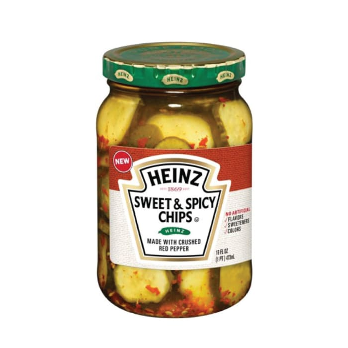 Heinz Sweet & Spicy Pickle Chips