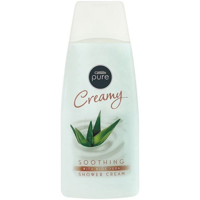 Cussons Pure Shower Cream Soothing Aloe Vera 500Ml