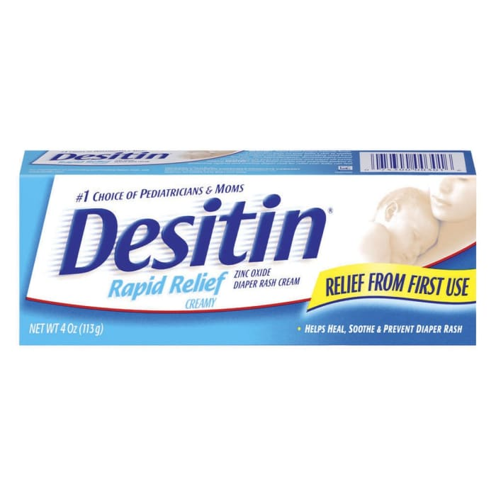 Desitin  Baby Cream Rapid Relief Creamy Nappy Rash