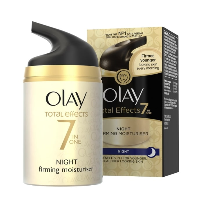 Olay Total Effects 7-In-1 Anti-Ageing Firming Moisturiser Night Cream