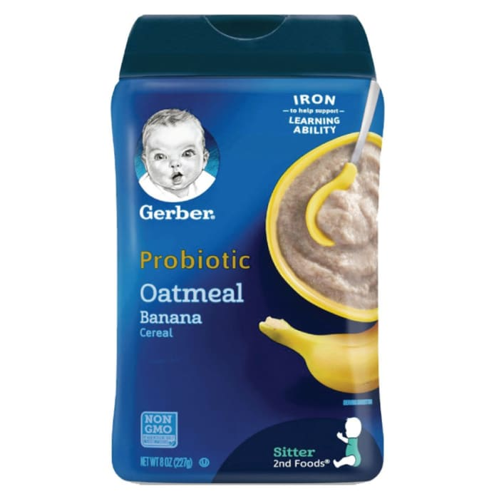 Gerber Probiotic Oatmeal & Banana Cereal
