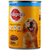 Pedigree Dog Food Lamb In Jelly Tin 400g
