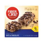 Fiber One Oats & Chocolate Chewy 5 Bars 200 Grams