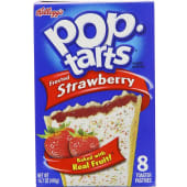 Kellogg's Pop Tarts Frosted Strawberry Toaster Pastries