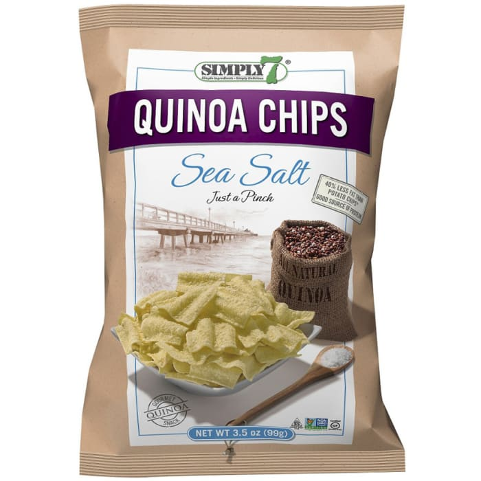 Simply 7 Gluten Free Quinoa Sea Salt Chips