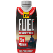 Fuel High Protein Breakfast Drink Strawberry 330ml