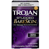 Trojan Bareskin Studded Condoms