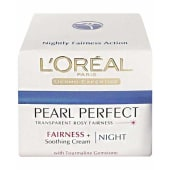 L'oreal Paris White Perfect Transparent Rosy Whitening Night Cream
