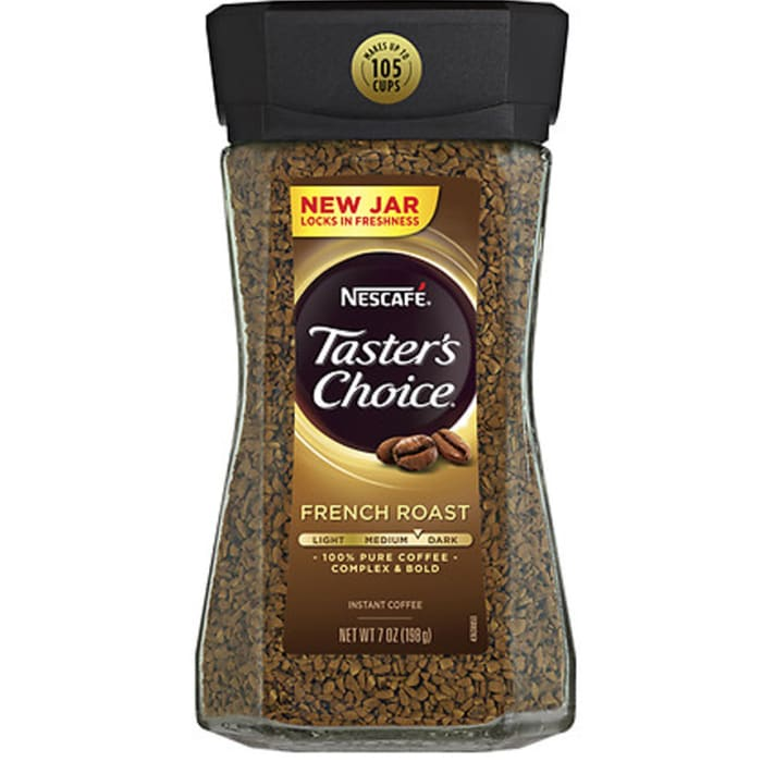 Nescafe Taster's Choice French Roast 100% Pure Coffee