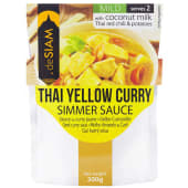 De Siam Yellow Curry Sauce 200g