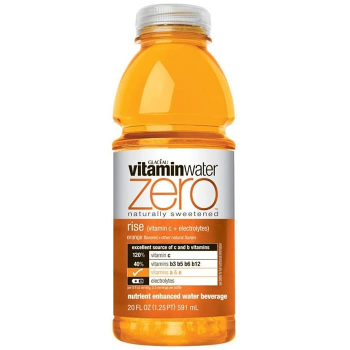 Glaceau Zero Rise Orange Vitamin Water 591ml