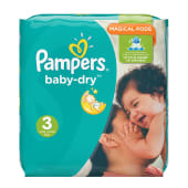Pampers Baby Dry Diapers Size 3
