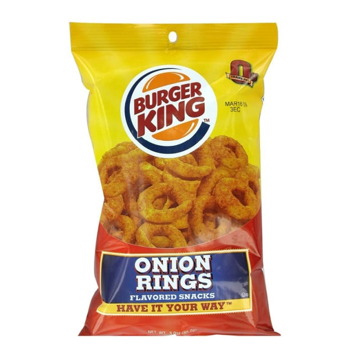 Burger King Chips Onion Rings