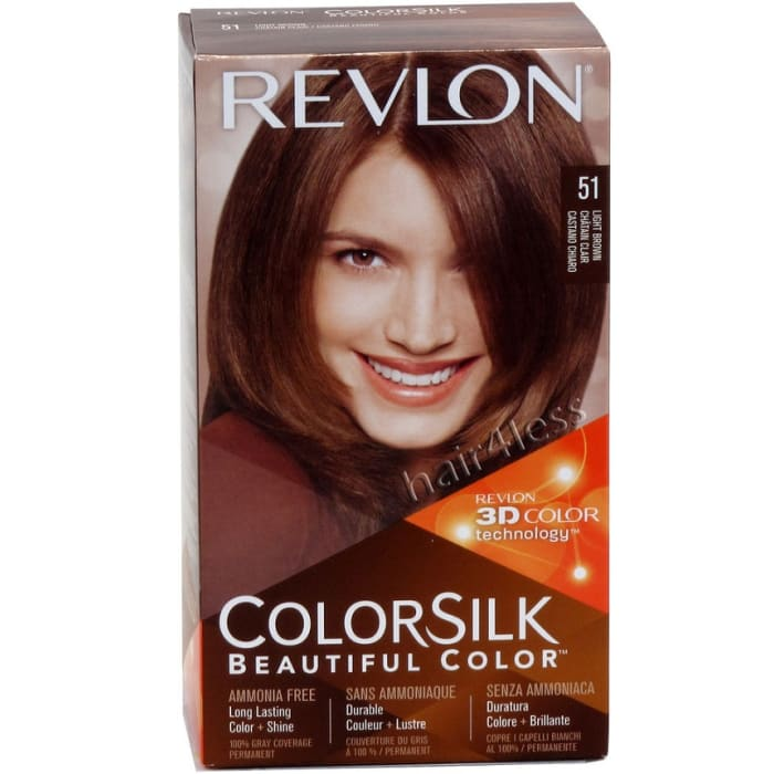Revlon Colorsilk Hair Color #51 Light Brown
