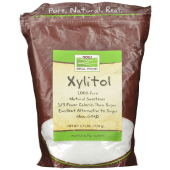 NOW Real Foods Xylitol 1133 Grams