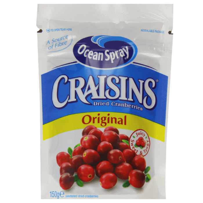 Ocean Spray  Dried Cranberries Original