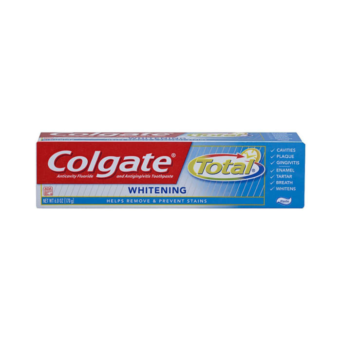 Colgate Tooth Paste Usa Total Whitening 170g