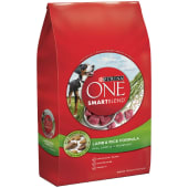 Purina One SmartBlend Dry Dog Food Lamb & Rice Formula Premium