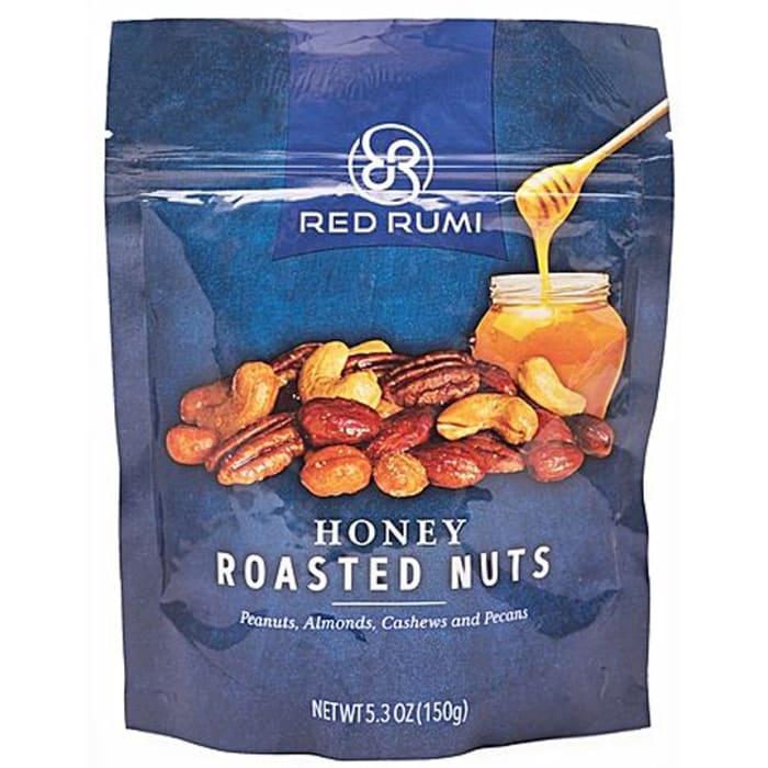 Red Rumi Honey Roasted Nuts