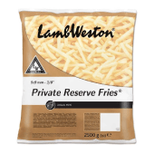 Lamb Weston Reserve Fries 9 x 9mm - 2500 Grams