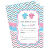 Baby Shower Party Invitations with Envelopes