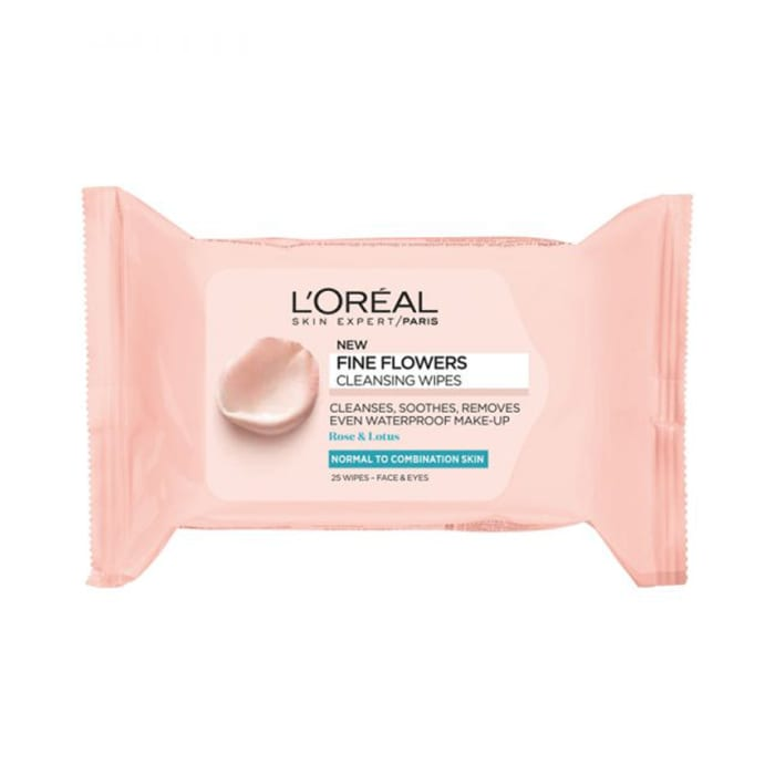 Loreal Paris Rare Flowers Cleansing Wipes