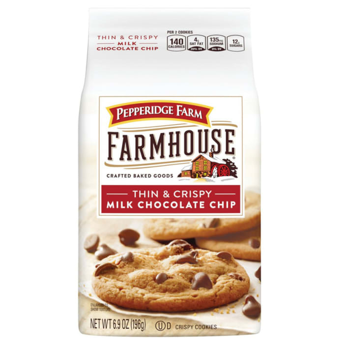 Pepperidge Farm Farmhouse Cookies Milk Chocolate Chip 196g