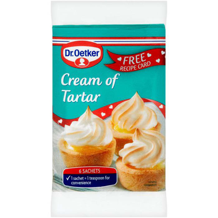 Dr.Oetker Cream Of Tartar Sachets 30g