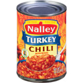 Nalley Turkey Chili Con Carne With Beans