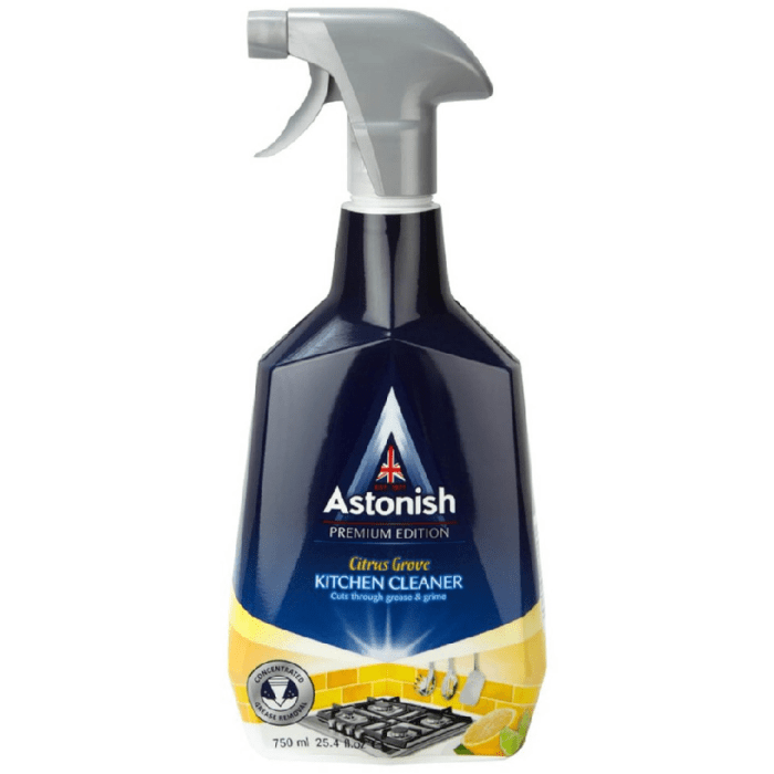 Astonish Citrus Grove Kitchen Cleaner 750ml