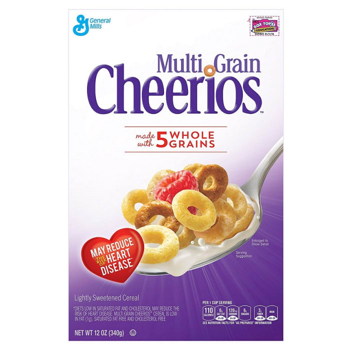 General Mills Multigrain Cheerios Cereal