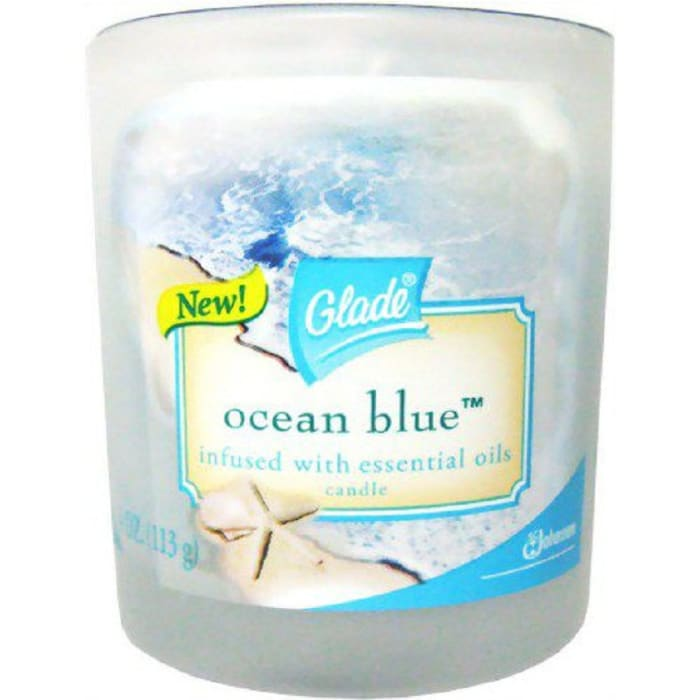 Glade Candles Blue Johnson Ocean Blue