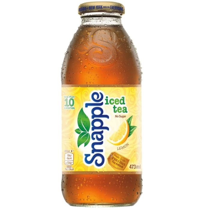 Snapple Iced Tea Drink Lemon
