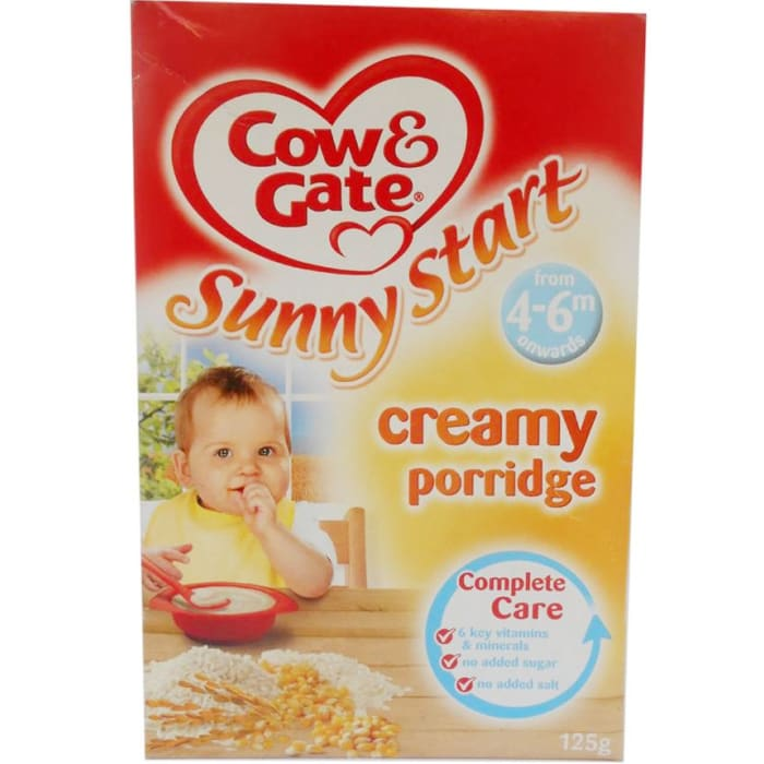 Cow & Gate Baby Cereal Creamy Porridge