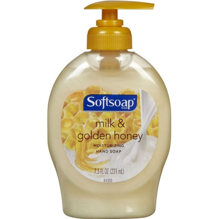Softsoap Elements Milk Protein And Honey Moisturizing Hand Soap