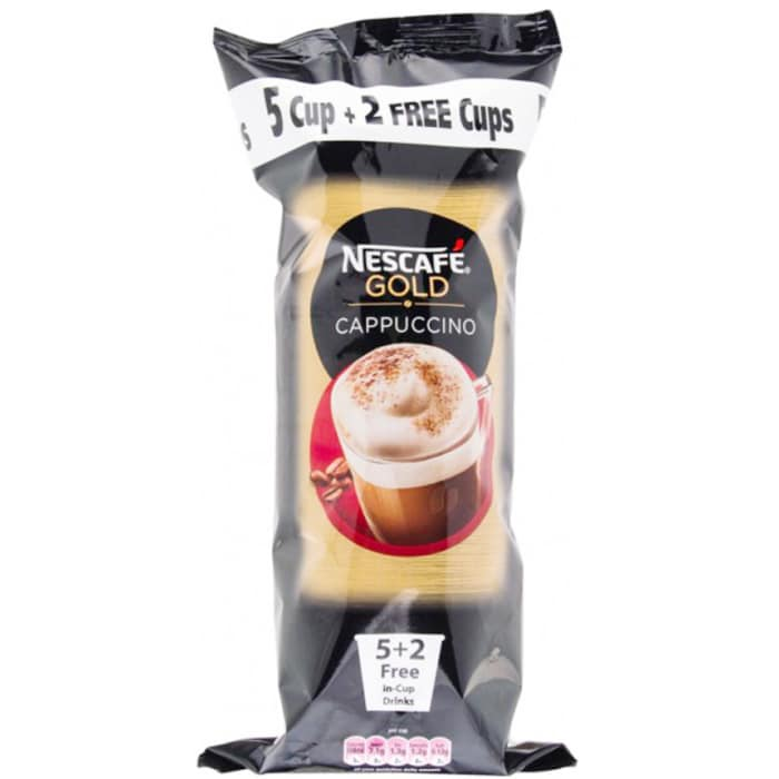 Nescafe & Go Gold Instant Cappuccino Cups 77 g