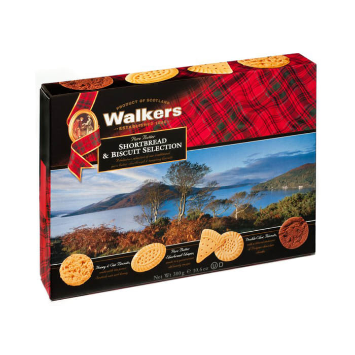 Walkers Shortbread & Biscuit Selection 300g