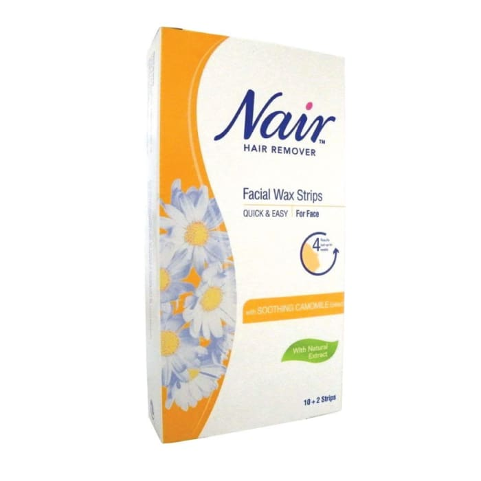 Nair Hair Remover Body Wax Strips with Camomile Extract