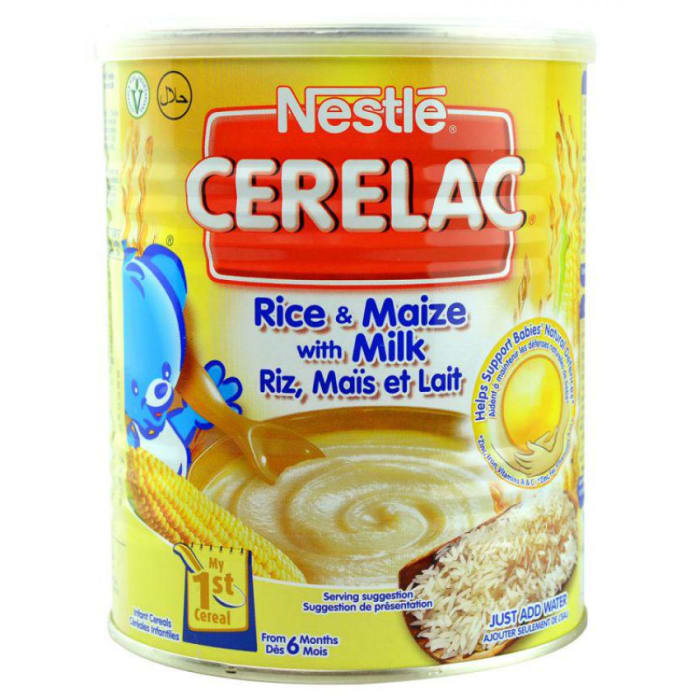 Nestle Cerelac Rice & Maize With Milk - From 6 Months