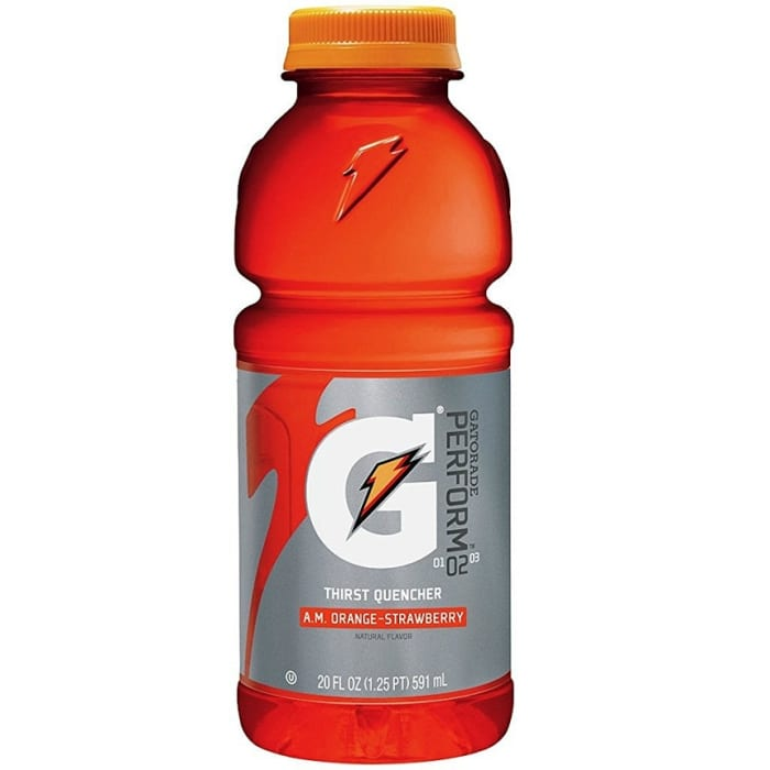 Gatorade Sports Drink Orange Strawberry