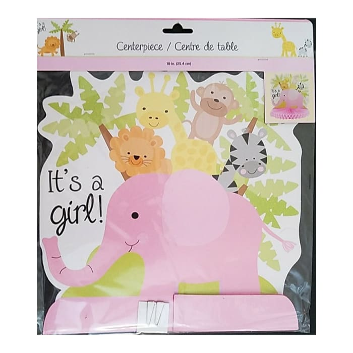 Baby Girl Shower Kit Party Supplies Decorations Tableware