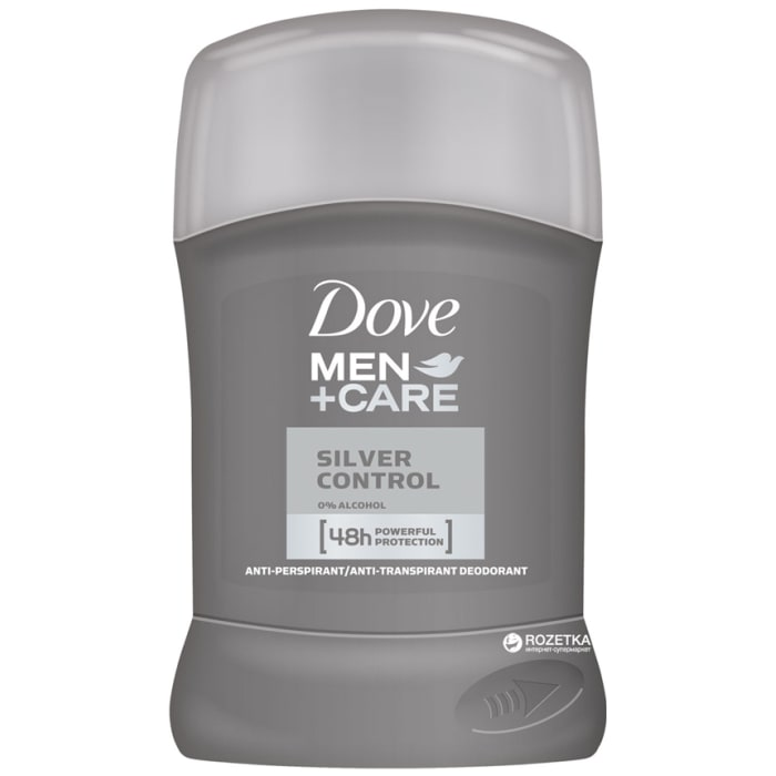 Dove Men+Care Silver Control Antiperspirant 50ml