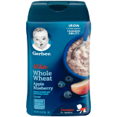 Gerber Lil Bits Whole Wheat Cereal Apple Blueberry